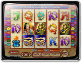 Play Cleopatra's Pyramid Slots now!