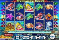 Play Mermaid's Quest Slots now!